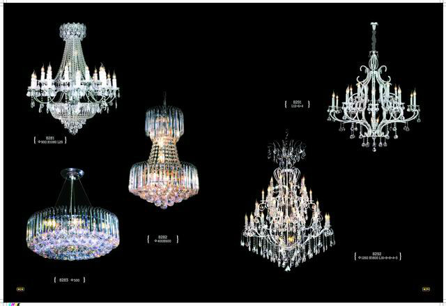 Classic European Style Plastic Crystal Chandeliers by Fonyan Factory MDG2087