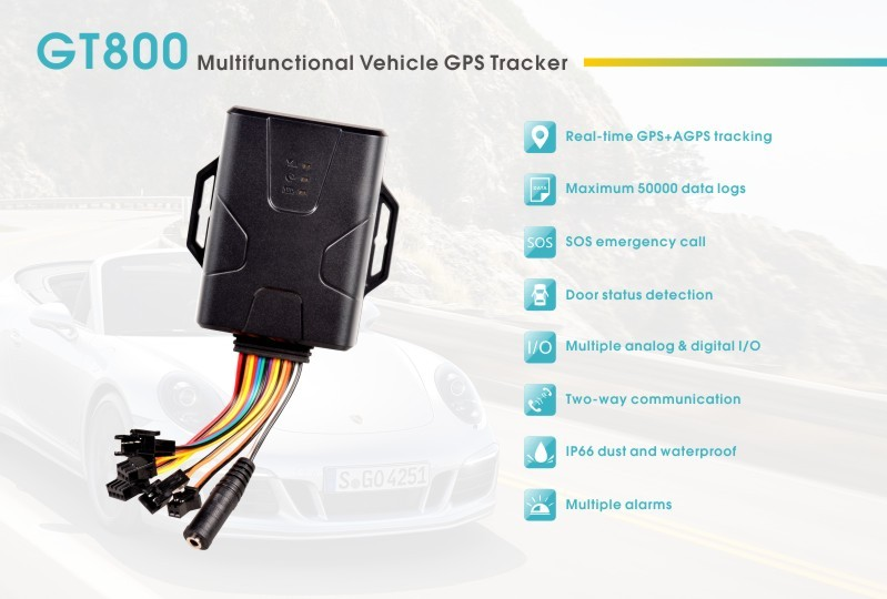 CONCOX GT800 GPS Vehicle Tracker System Software With APP