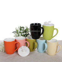 400ml 14oz Hot sale new coffee mug cup colored Factory directly sale