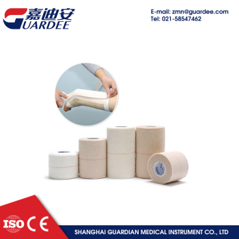 5cm*4.5m latex free cotton waterproof zinc oxide elastic adhesive bandage
