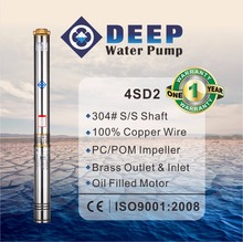 4SD quality submersible irrigation pump