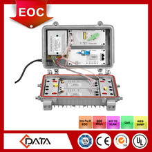 ONU+ OR+ 2* EOC One EPON port, one CATV four TV+data mixed output port Outdoor waterproof EOC Master