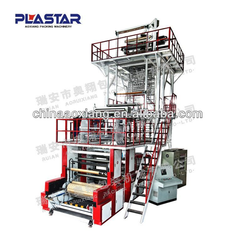 extruded snack food film blown line/plastic extruder