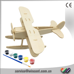 Educational DIY assemble and drawing wooden toy