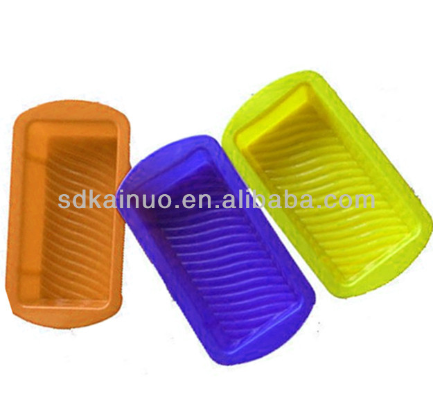 custom shaped silicone baking tin pans