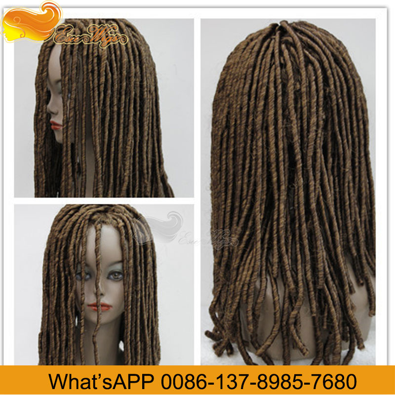 Eseewigs 100% Human Hair Dreadlock Wig For Women