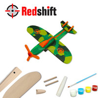 Design you own Wooden aircraft Art & Craft diy kit toy
