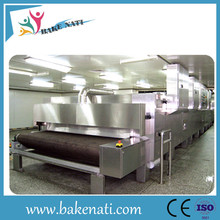 Automatic bread production line commercial baking oven