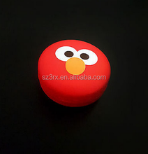 Novelty red round cartoon character lip gloss tube/custom lipstick container wholesale/empty lip gloss container companies