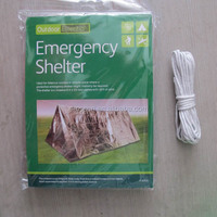 Emergency Survival Tube Tent for Camping Shelter Outdoor