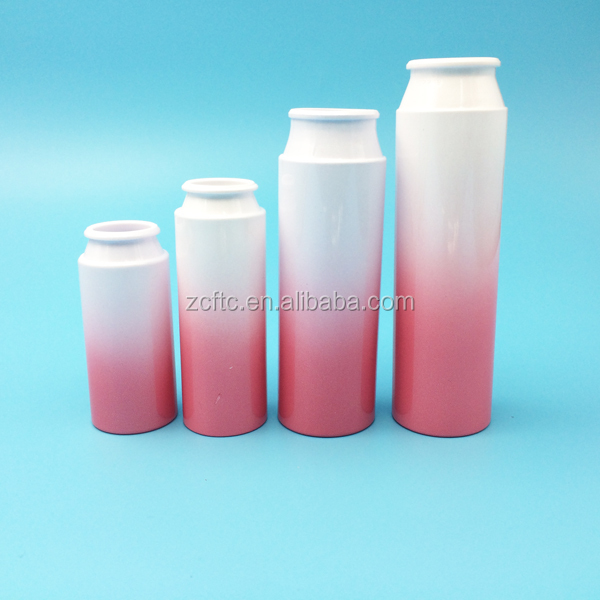 100ml,150ml pink fade color cream shampoo bottle, lotion gel pink PET bottle 150ml
