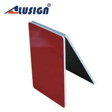 Alusign insulated 4mm aluminum composite roof panels stucco wall panels