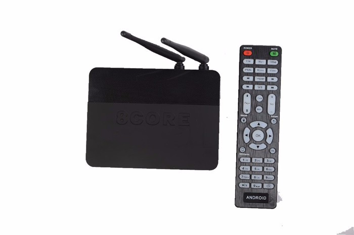 Csa91 Android 5.1 Tv Box Rk3368 Octa Core 2G+16Gb 4K Bt 4.0 Wifi 2 Antenna Kodi Smart Media Player New Iptv
