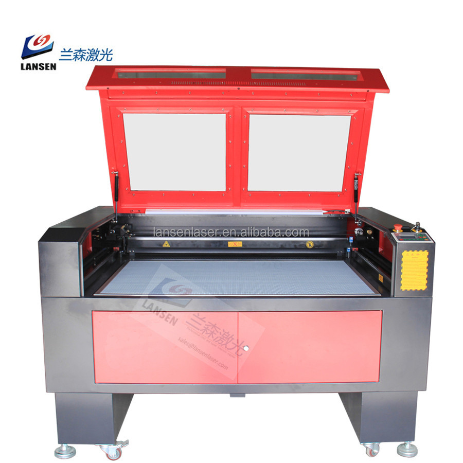 Factory directly supplying High Speed Honeycomb work table front and back through door 100W Cloth Laser Cut machine