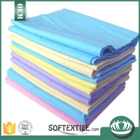 Plastic softextile absorbent fashionable swans sports towel for wholesales