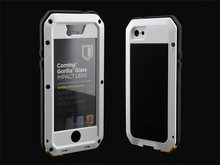 Metal Gorilla Glass Waterproof Shockproof Case Hard Cover Skin Protective Phone Cases for iPhone 5C 5SE 4S 6S plus 6S
