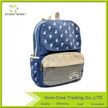 <strong>Fashion</strong> Personalized High Quality Canvas wholesale children school bag