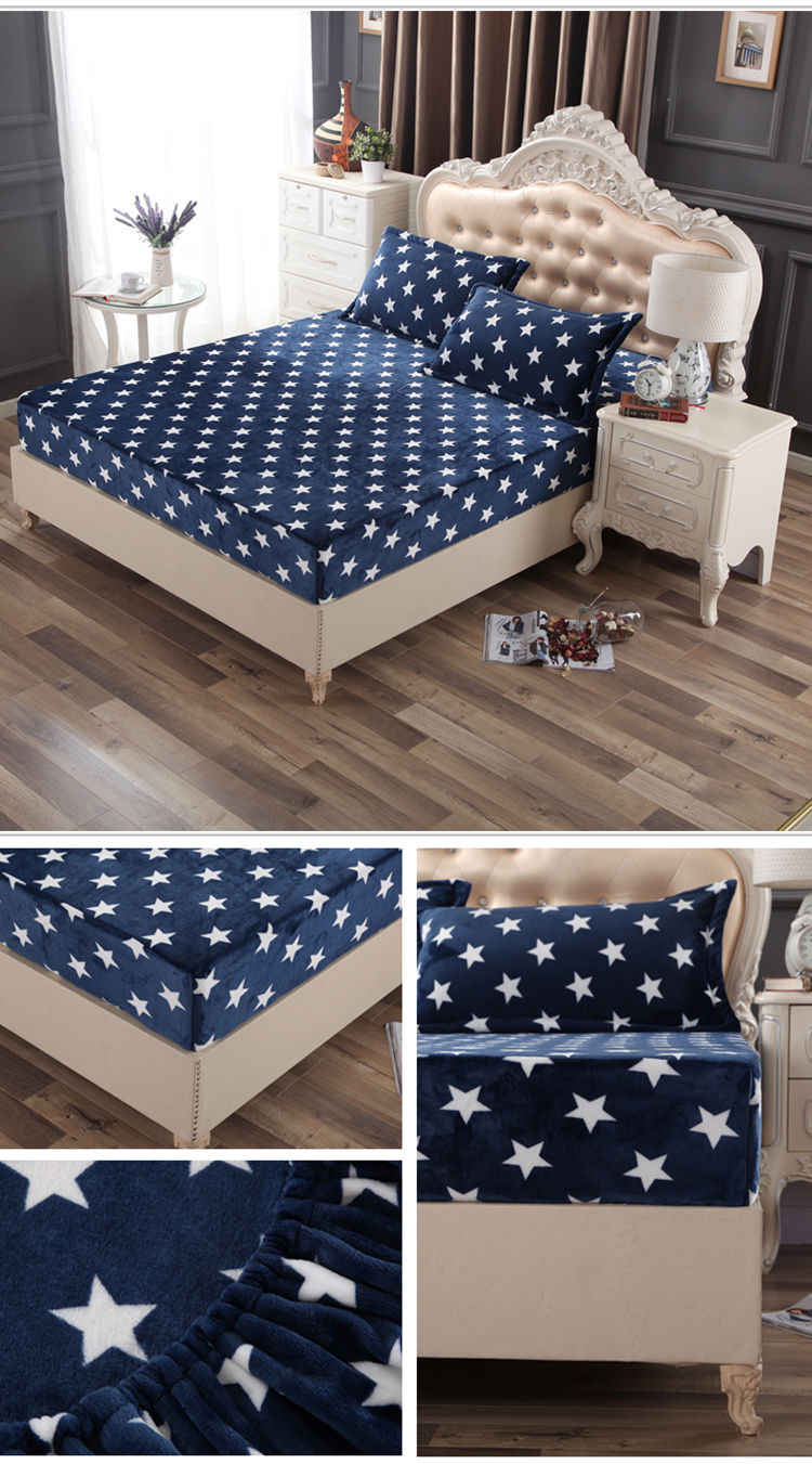 Coral velvet polyester customized style mattress protector top - Jozy Mattress | Jozy.net