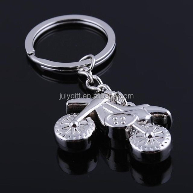 custom motorcycle keychain with zinc alloy