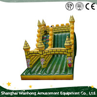 New Design China Cheap high strength oxford fabric water slide,inflatable slide