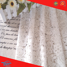 High Quality Embroidery 100 Polyester Fabric for Kitchen Curtains