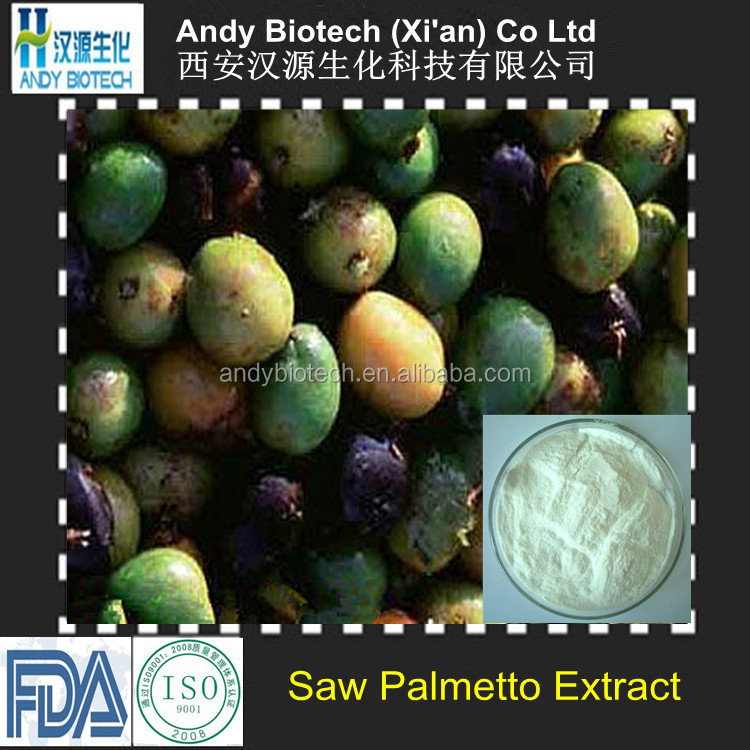 Total Fatty acids 45% Saw Palmetto Extract Powder