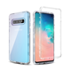 S10 Clear Shell TPU PC Blank Bumper Protective Customized Transparent s10 cases cell phone covers