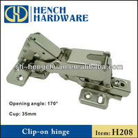 180 Degree Clip-on Cabinet Hinge