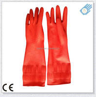Super Soft Long Sleeve Rubber Kitchen Gloves for Cleaning