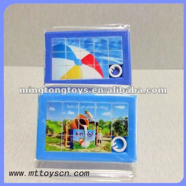 Personalised Promotional Printed Children Plastic Sliding Puzzle
