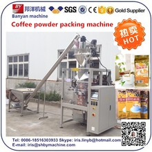 Automatic screw/augur milk powder packing machine