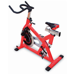 Pro Stationary Upright Exercise Bike Cardio Indoor Cycling Bike SB466 Commercial Spin Bike with Heavy Duty Spin Flywheel