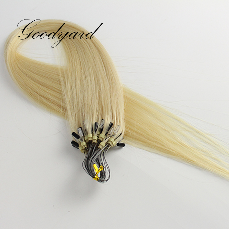 Remy Virgin Brazilian Micro Loop Ring Hair Extensions Weft and Human Hair Extensions in Wholesale Price