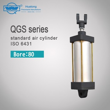 QGS series easy maintenance customized high dirt tolerance cylinder