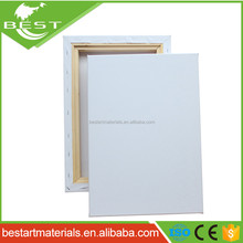 18*24cm blank stretched artist acrylic oil painting canvas 100% 280g pure cotton with 42mm deep*38mm width pine wood