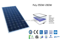 China PV supplier 250W~280W Poly Solar Panel price list