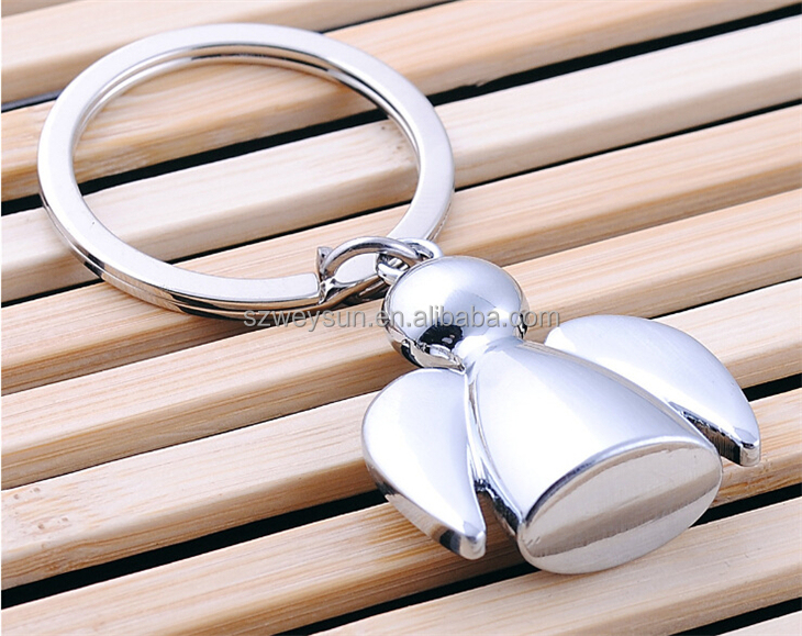 new Keychain pendant hot Festival Gift Metal Key Chains Key Ring Angel Keychains