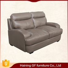 Modern style furniture genuine leather sofa set has yet stylish silhouette
