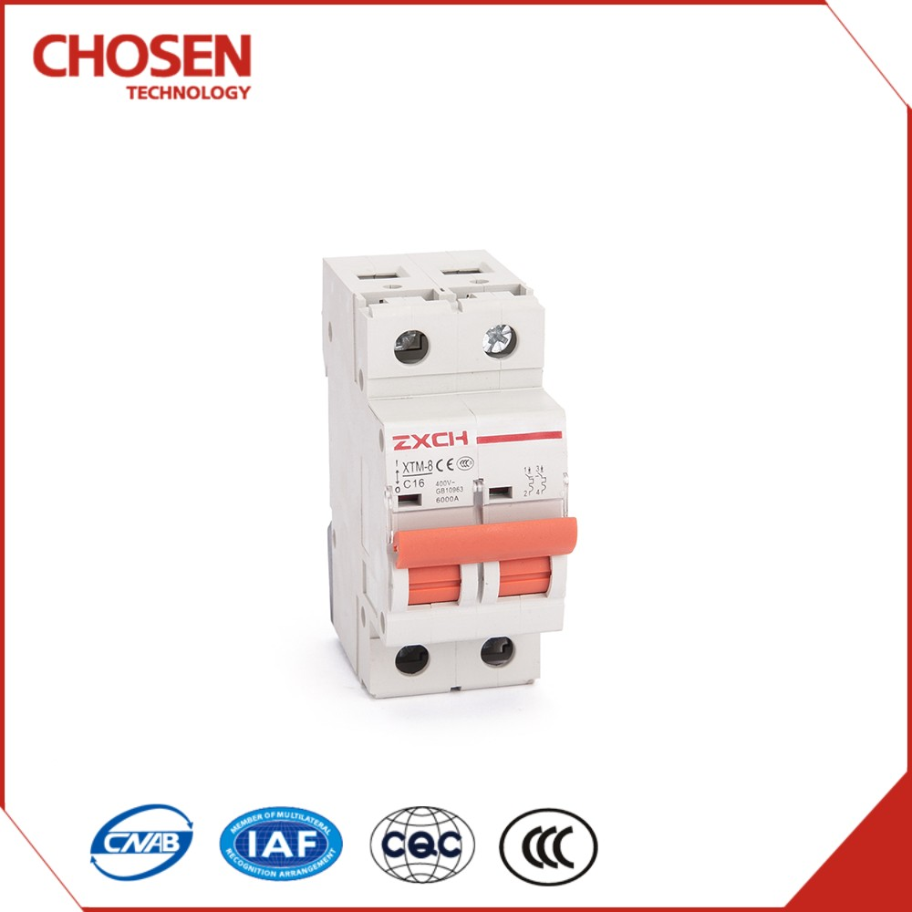 Wholesale Mini Circuit Breaker,MCB C65 2 pole 16amp 380v 6ka,high breaking capacity with low price