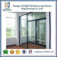 China supplier swing vinyl sliding window trim with triple glazing