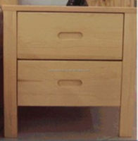 pine wood bedside table SP-B02