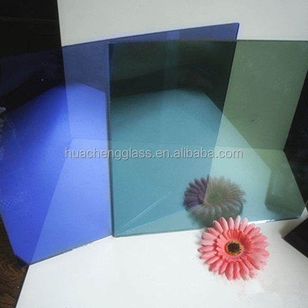 Colored Float Reflective Glass Coating for Commercial Building