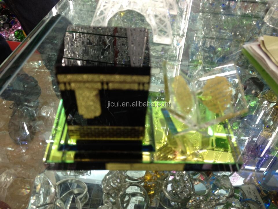 hight quality crystal kaaba model crystal islamic gift & good gift items