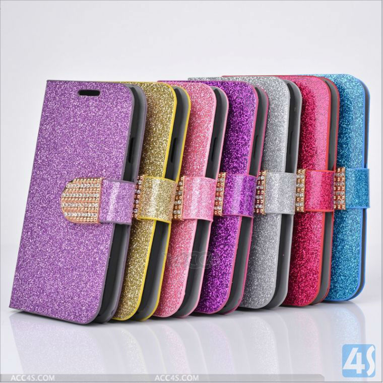 Silver Luxury Aluminum Bling Glitter Chrome Hard Cover Case For Samsung Galaxy Note 2 N7100 P-SAMN7100CASE047