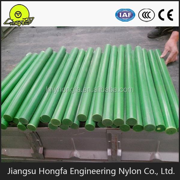 Green nylon rod MC nylon rod nylon thread rod