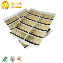 All Kinds Of Custom Self Adhesive Sticker Paper For Packing