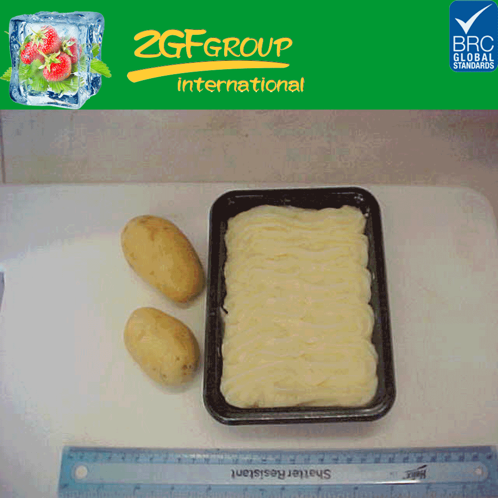 IQF Frozen Peeled Mashed Potato, Potato Puree