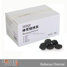 2KG Smokeless Barbecue Charcoal, Barbecue Charcoal Briquette Or Sawdust, BBQ Coal