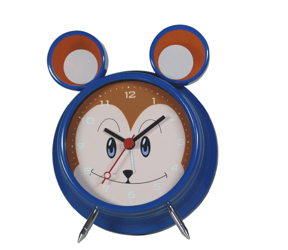 Twin bell alarm clock/mini clock inserts for gift
