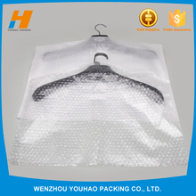 environmental dry cleaning plastic bags with bubble film